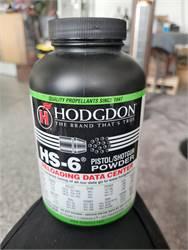 Hodgdon HS-6 Pistol/Shotgun Powder 1lb