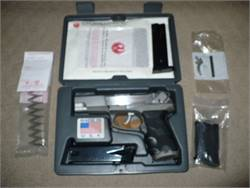WTS Ruger P89 (9mm)  with upgrades