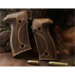 25% OFF Walnut grips for Sig Sauer P226