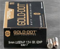 9MM AMMO:  Brass, Nickel, & Steel cases; FMJ, and JHP +P (Personal Defense)