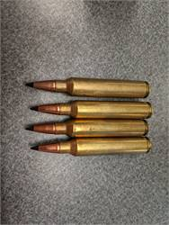 New and Once Fired Remington 300 Ulta Mag Brass and Ammuntion