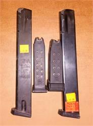 Glock Beretta Springfield mags 9mm 40 45