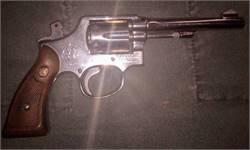 S&W Model 10-5 38 Special Detroit Police