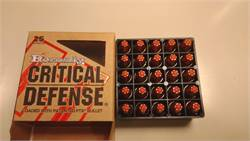 9mm for sale Hornady Critical Defense Box of 25 AmmoRexburg AmmunitionRexburg Ammo Rexburg for sale