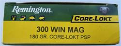 Remington Core-Lokt 300 Win Mag 180 Grain