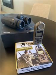 Sig 3000BDX Rangefinder Binos and Kestrel Elite